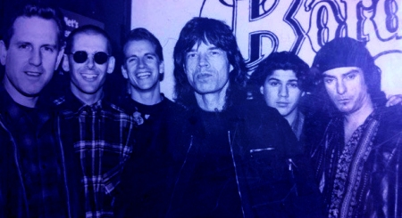 Red-Devils-with-Mike-Jagger-from-late-last-century